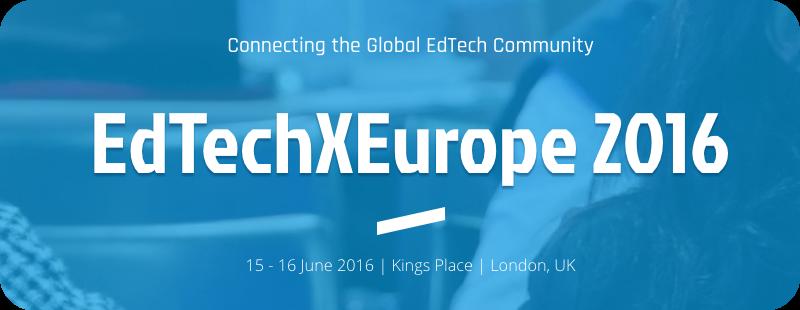 EdTechXEurope Banner