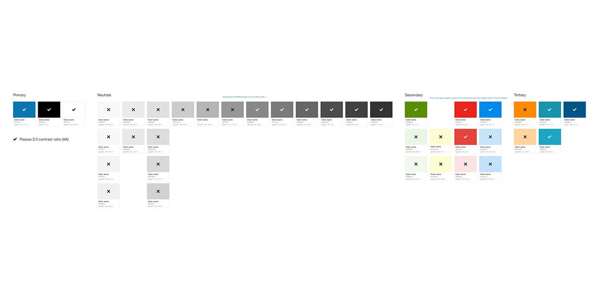 Hexadecimal color codes