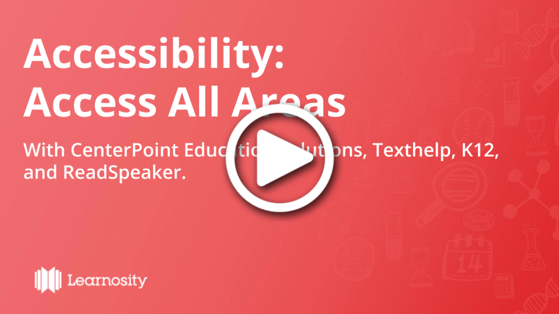 Recording of Accessibility Webinar
